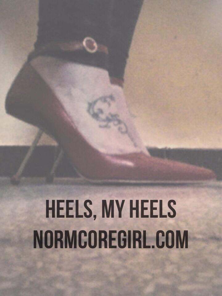 heels arquitecture normcore girl