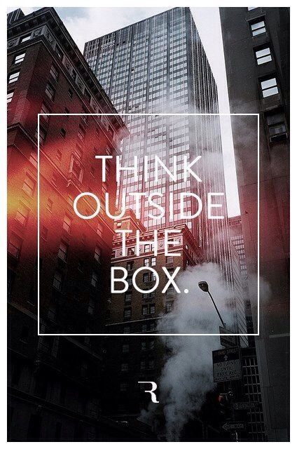 think outside the box ,new york