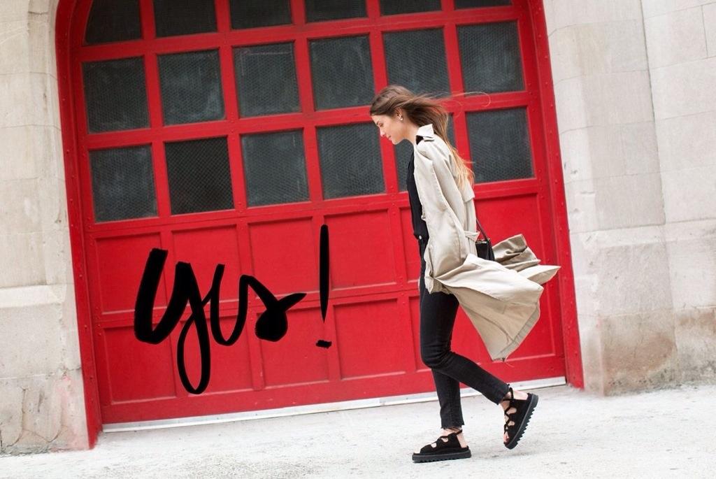 fotos garance dore normcore girl streetstyle