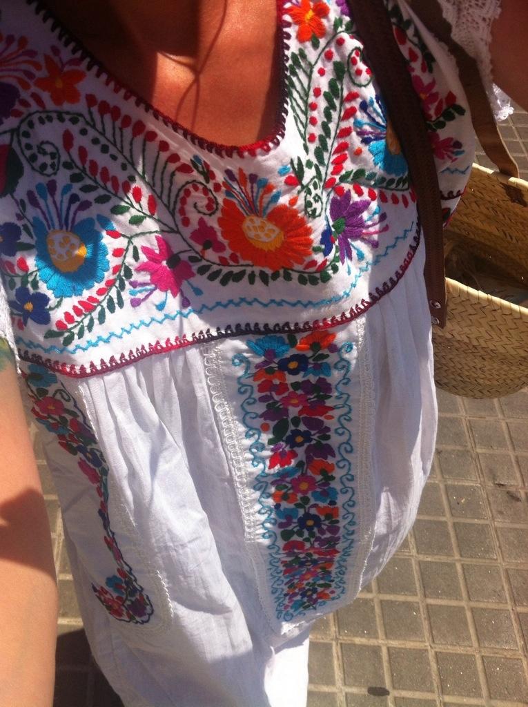 vestido mejicano