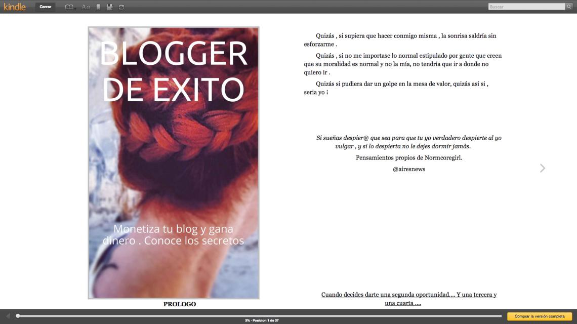 libro bloggers amazon