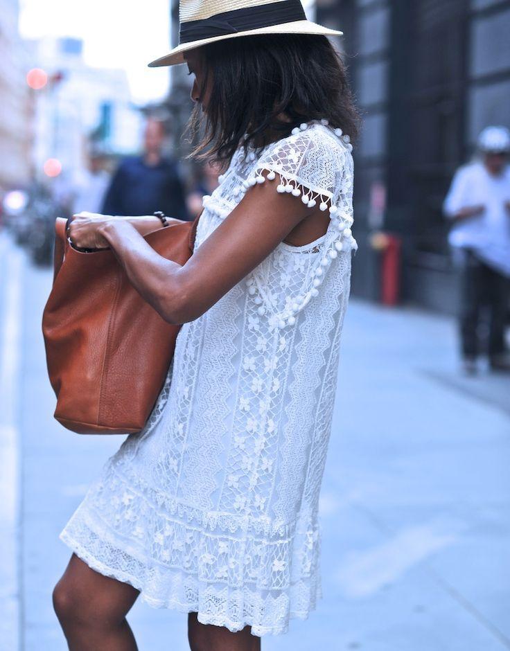 vestido blanco moda