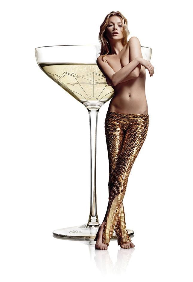copa champagne cava kate moss