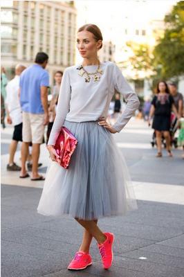 faldas de tul verano 2014 normcore