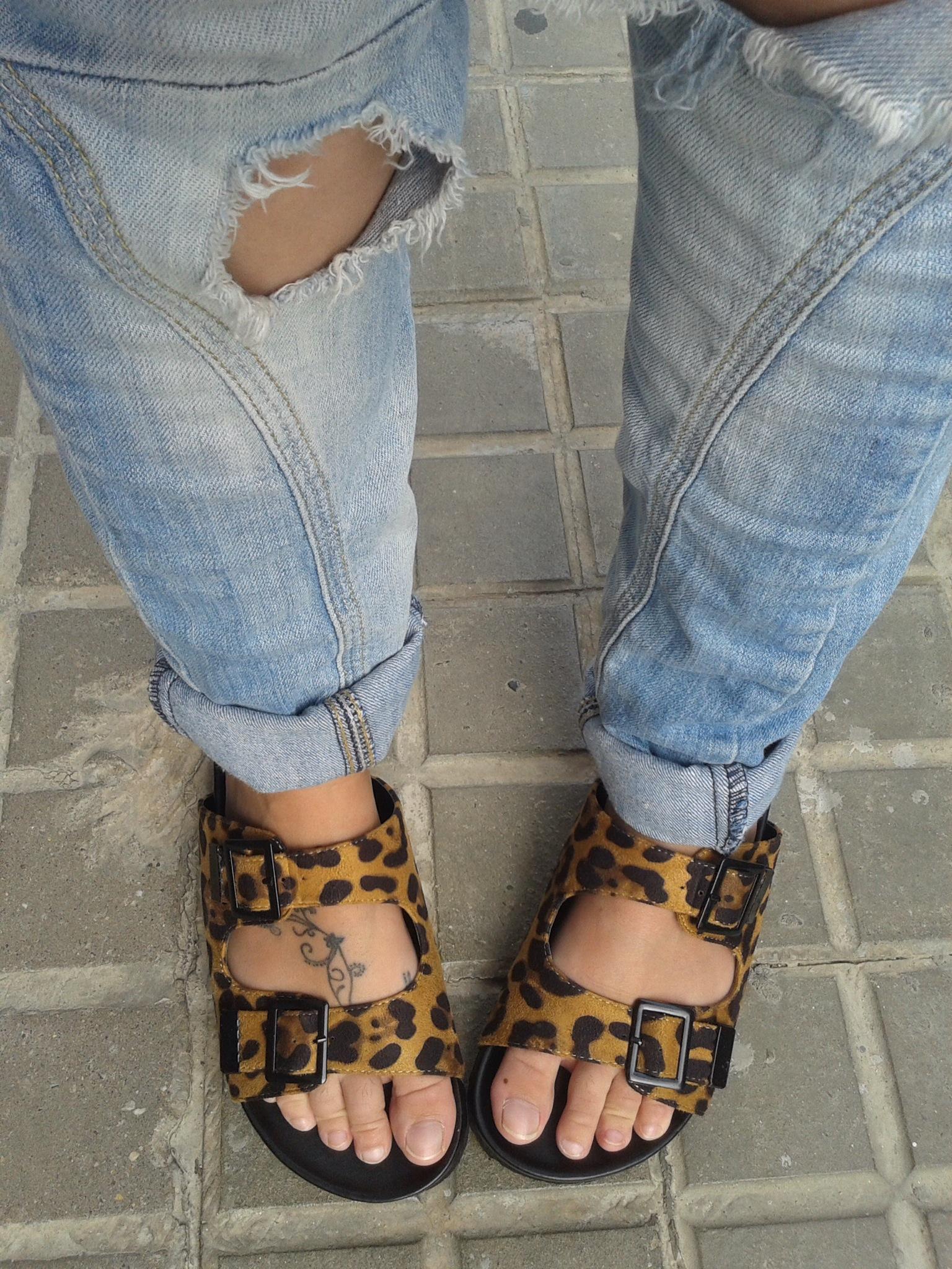 uggly shoes print animal