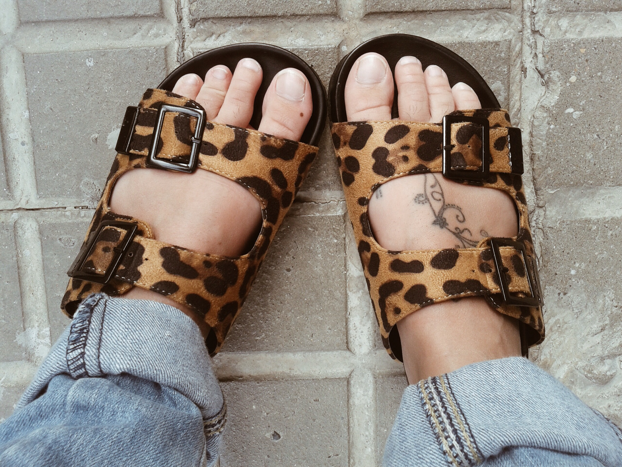 uggly shoes en print animal