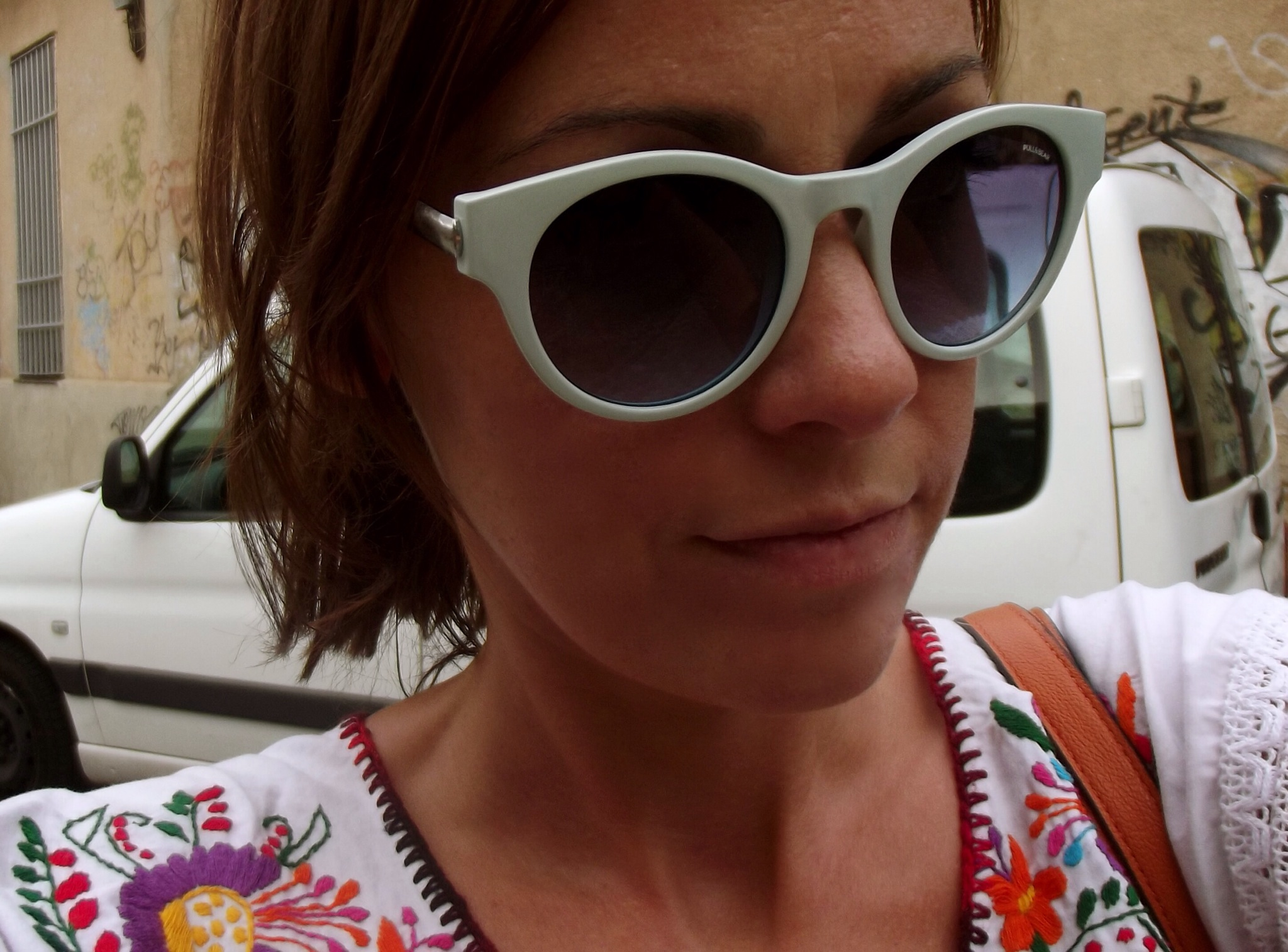 pull and bear gafas de sol azul