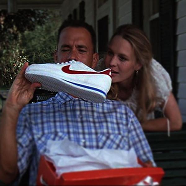 sneakers-forrest-gump nike cortez normcore girl influencer