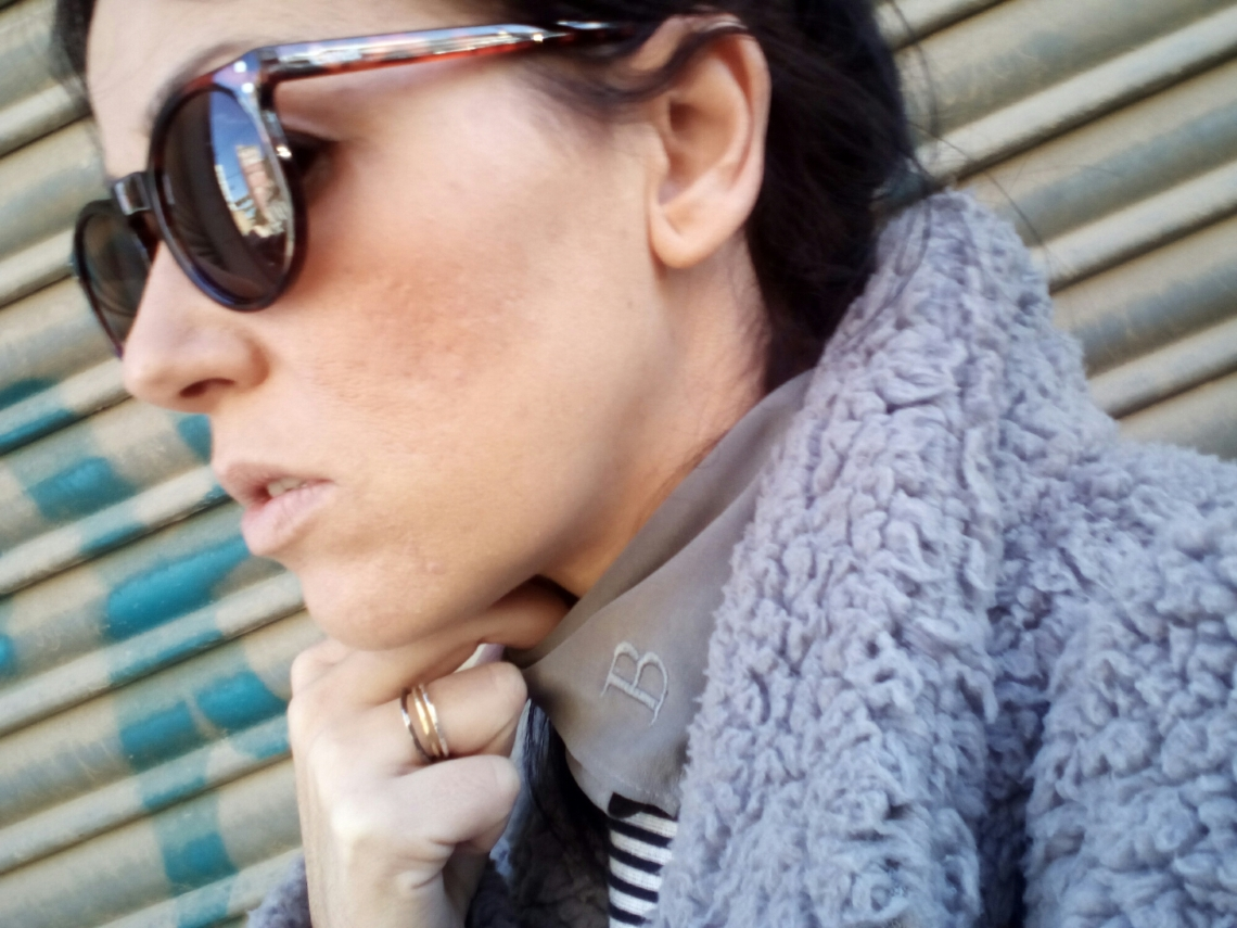 normcore girl comfy look coat 15/16 spanish blogger normcore