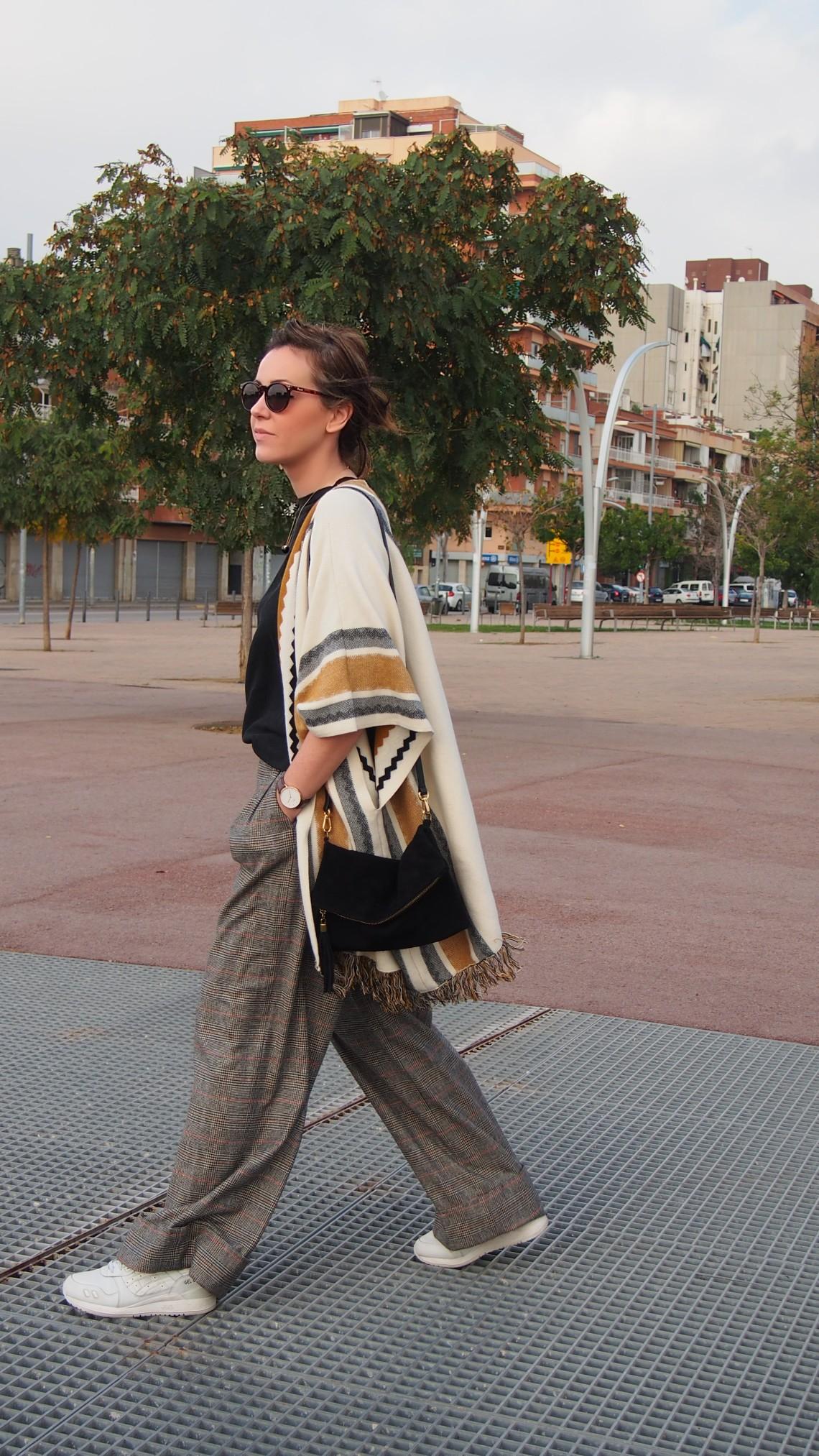 como combinar un kimono normcore girl