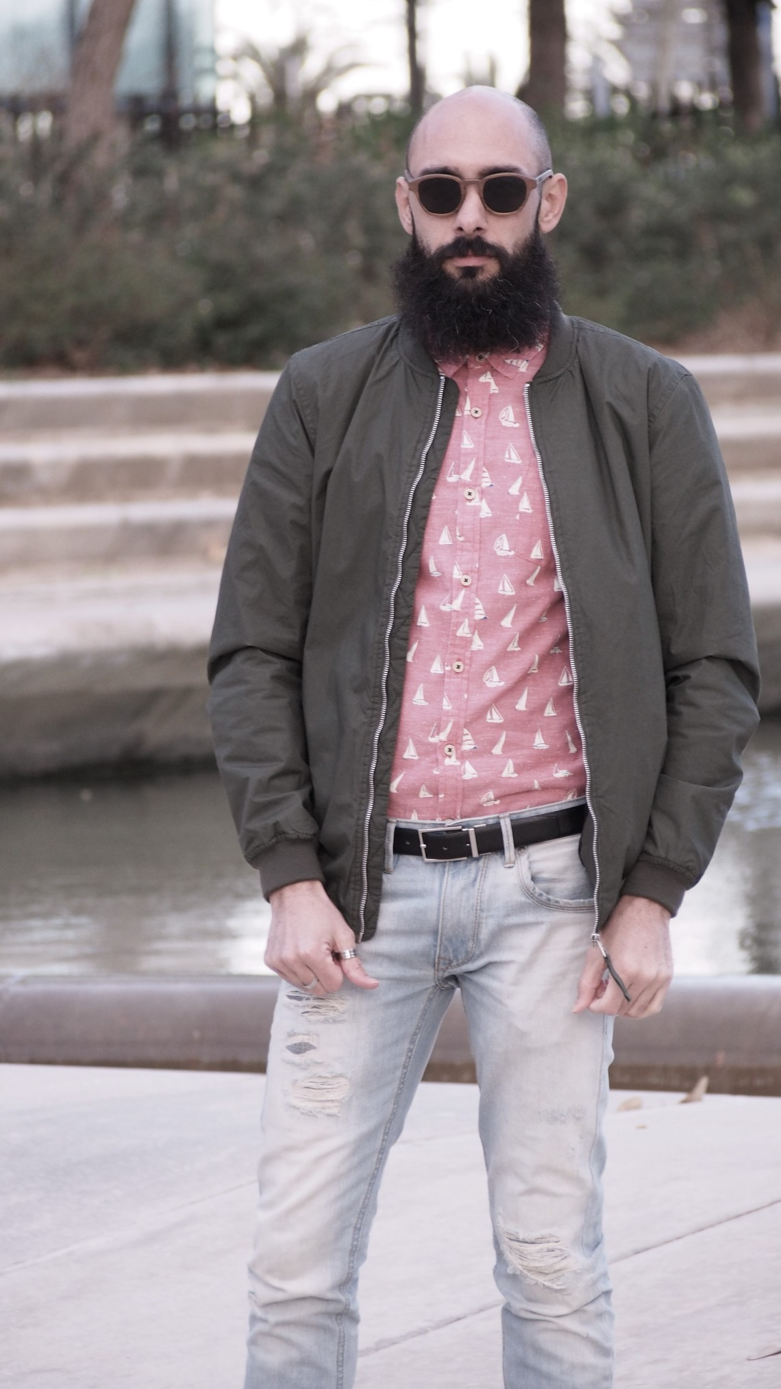 matchy matchy pantalon bajo roto normcore girl bearded villains spain my barba