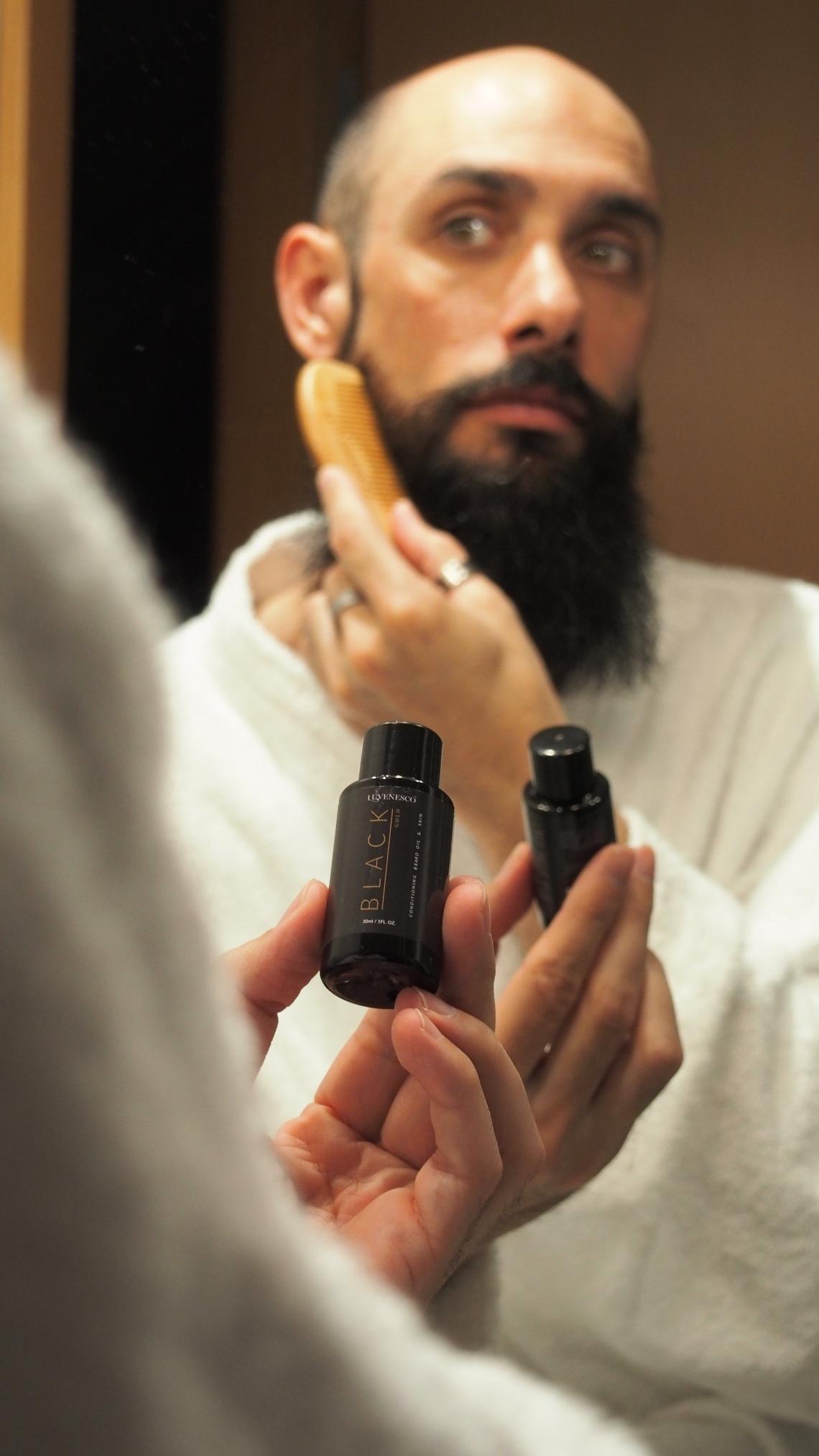 cuidados para la barba ingredientes naturales peine de madera