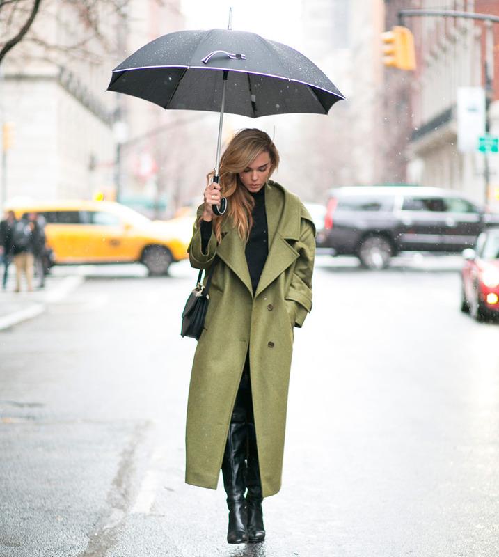 looks para dias de lluvia peinados para dias de lluvia