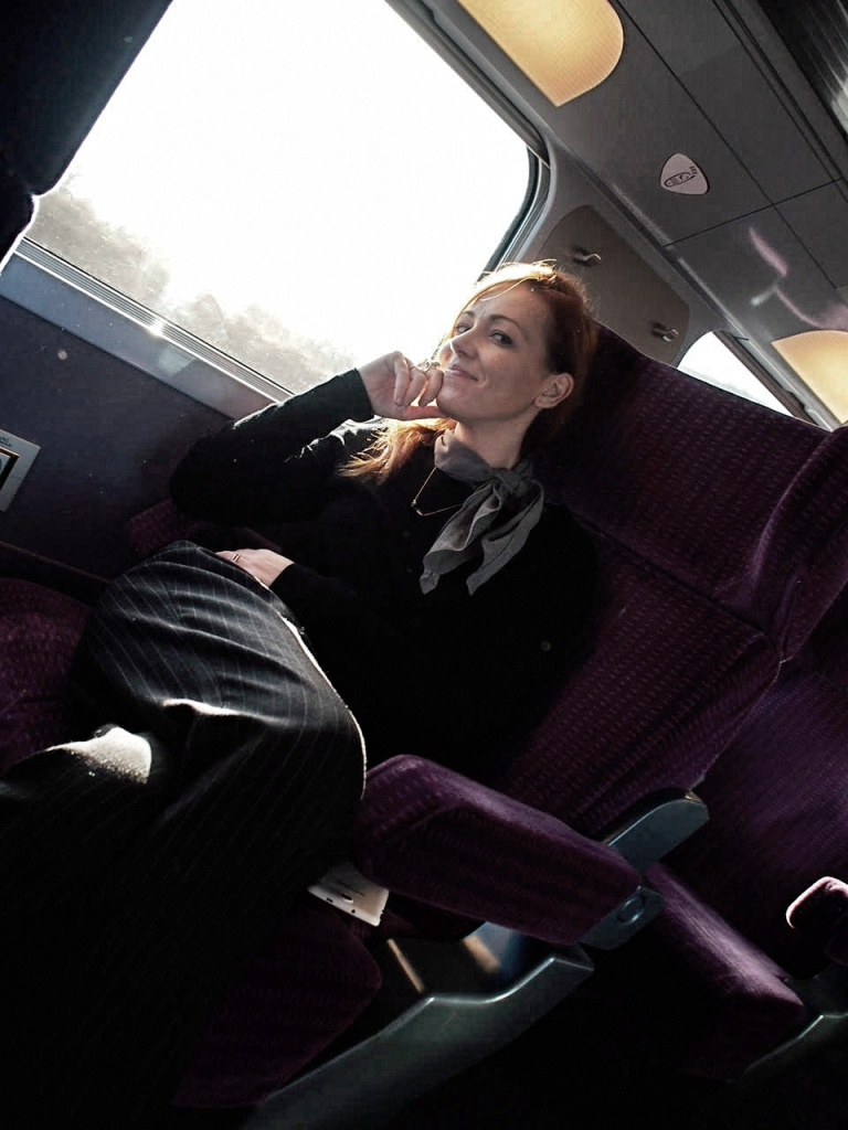 travel blogger con renfe sncf