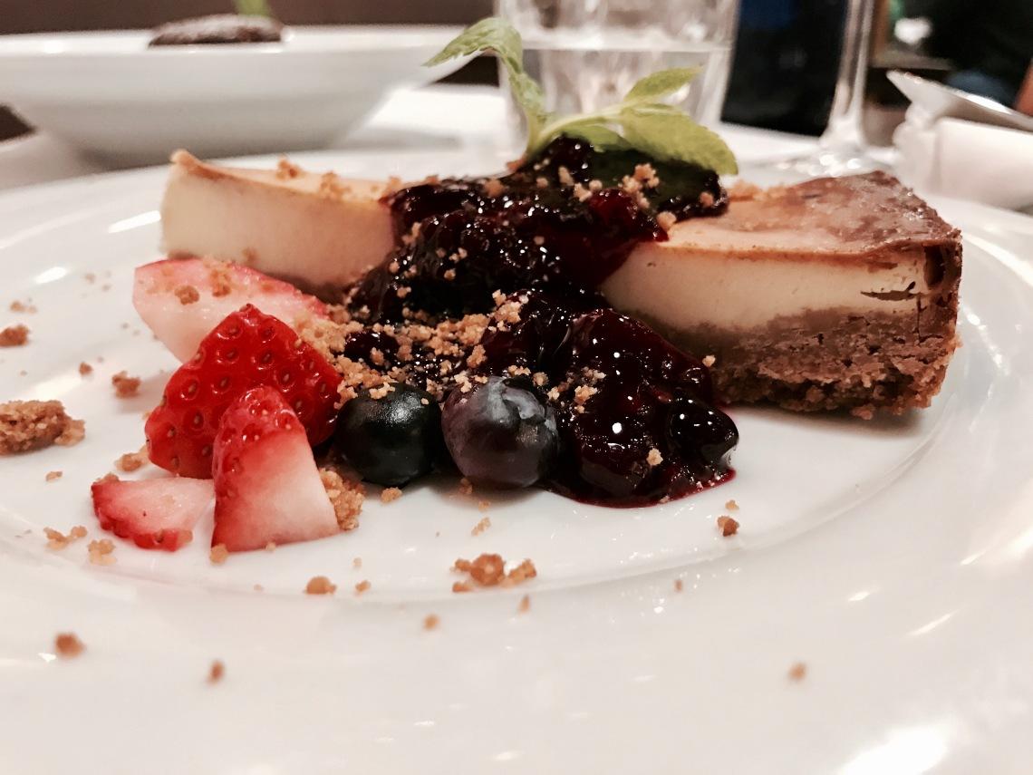 chesscake-con-frutos-rojos