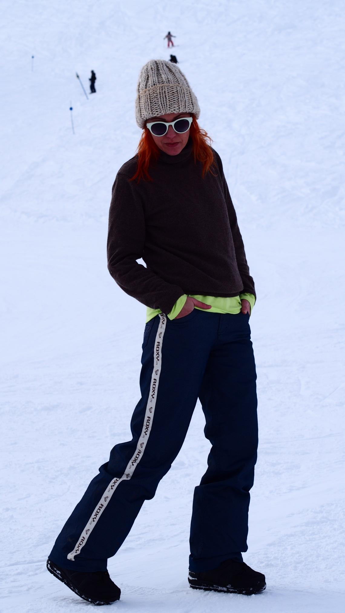 grand valira andorra el tarter + roxy pantalones snow