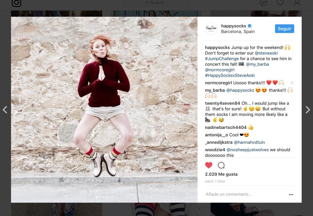 fashion blogger barcelona with happy socks