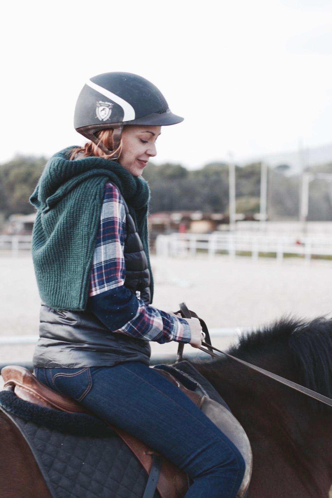 como vestirse para montar a caballo