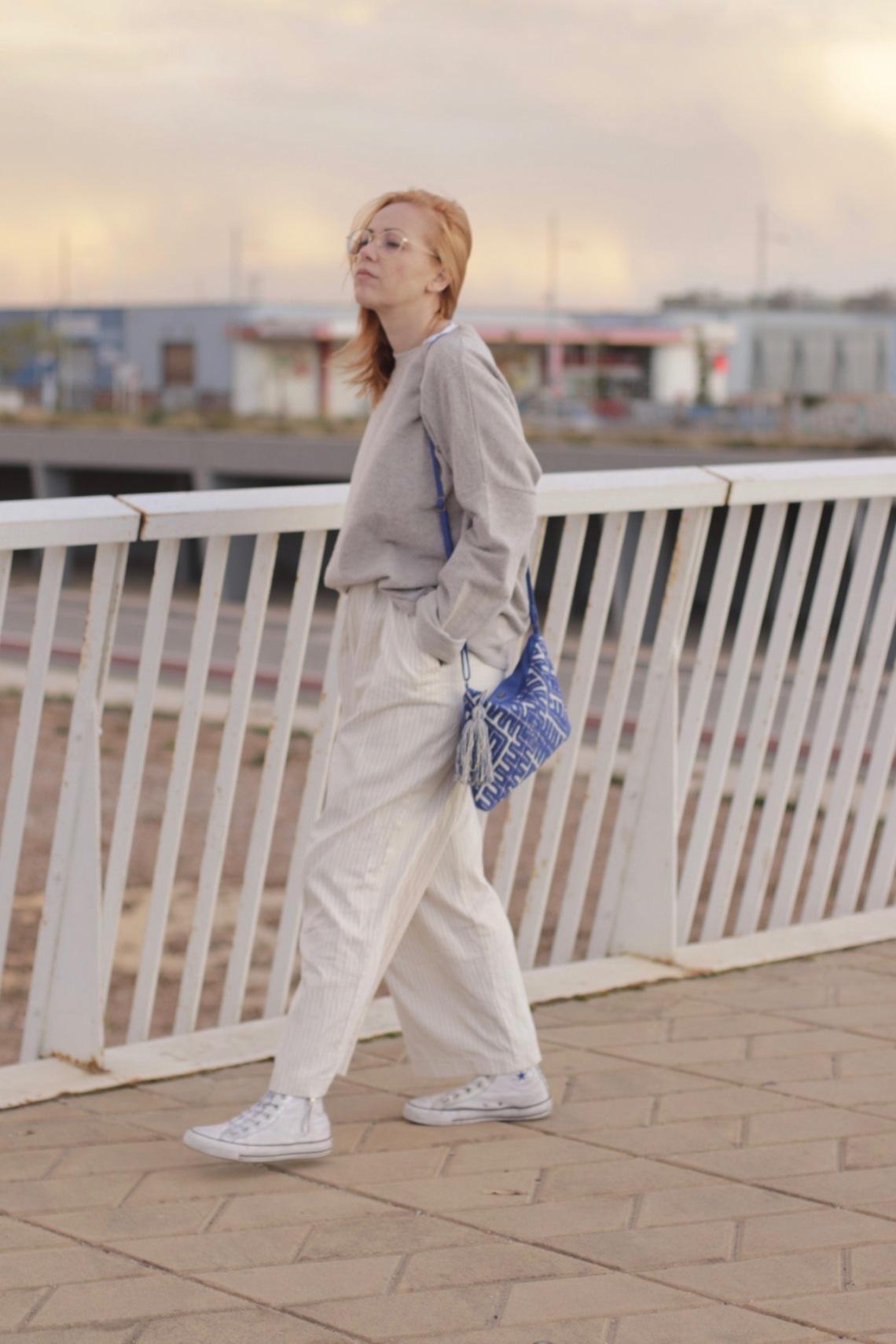 blog de moda barcelona bolso azul