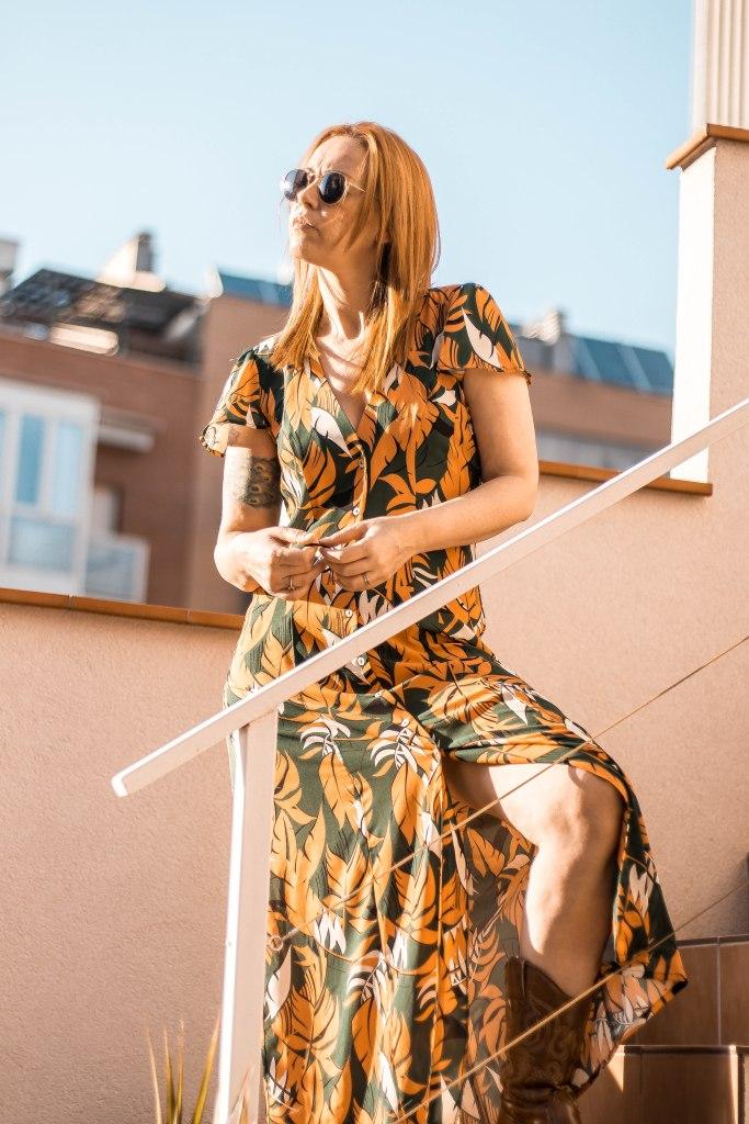 blog de moda vestido camisero