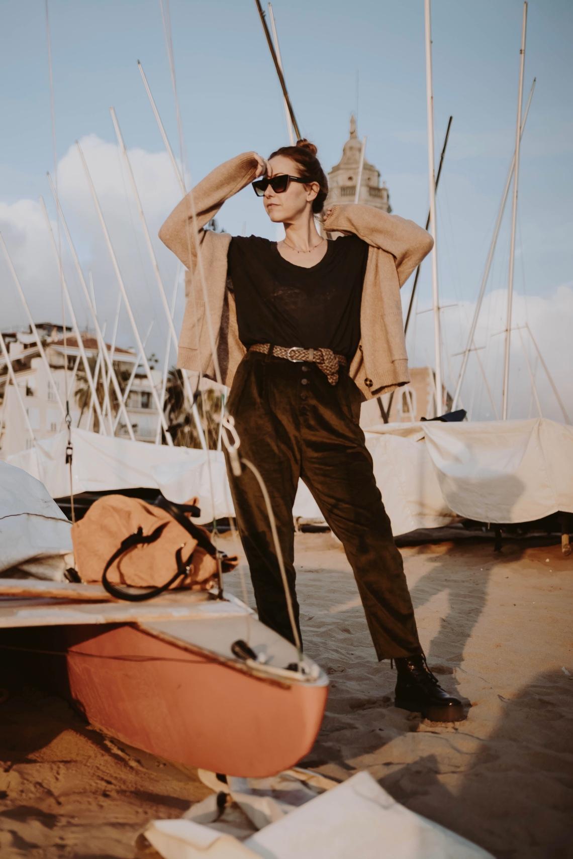 look pantalon pana blog de moda barcelona españa 9