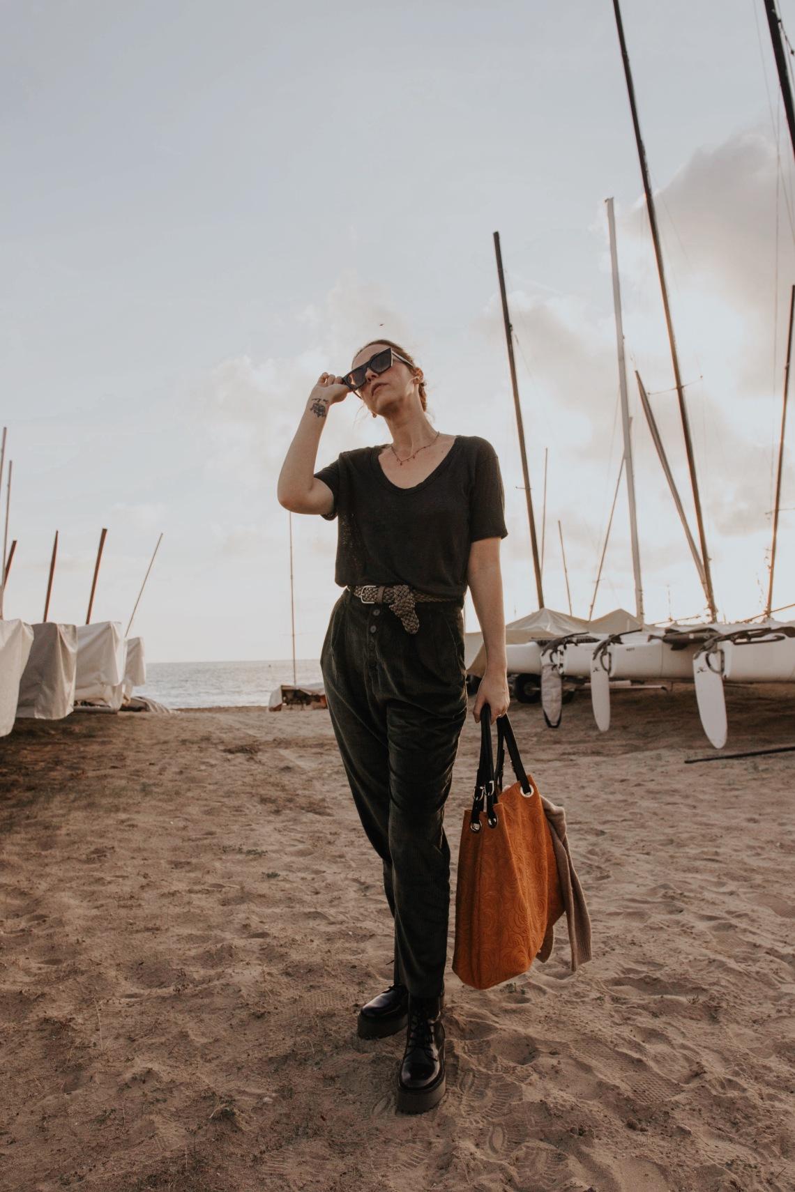 look pantalon pana blog de moda barcelona españa 3