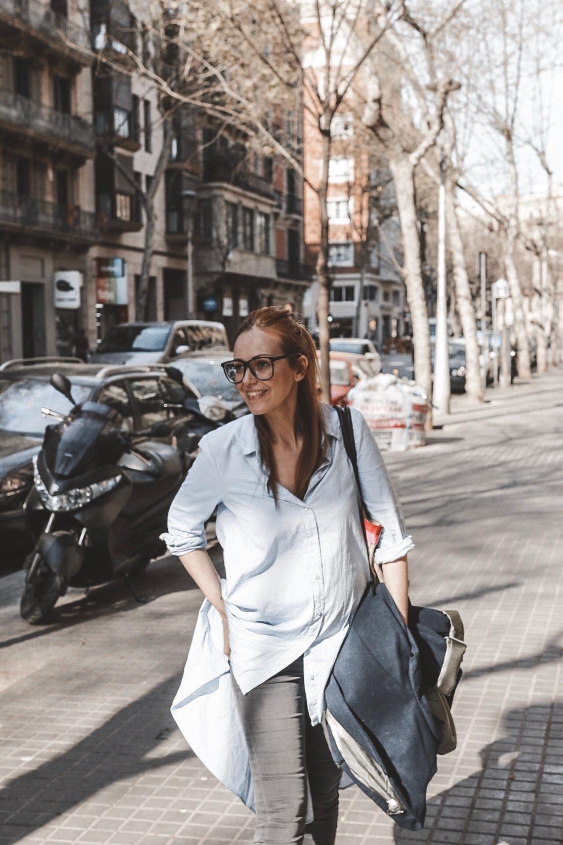 blogger embarazada barcelona 2019